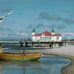 fischerboot mit seebrücke kleiner